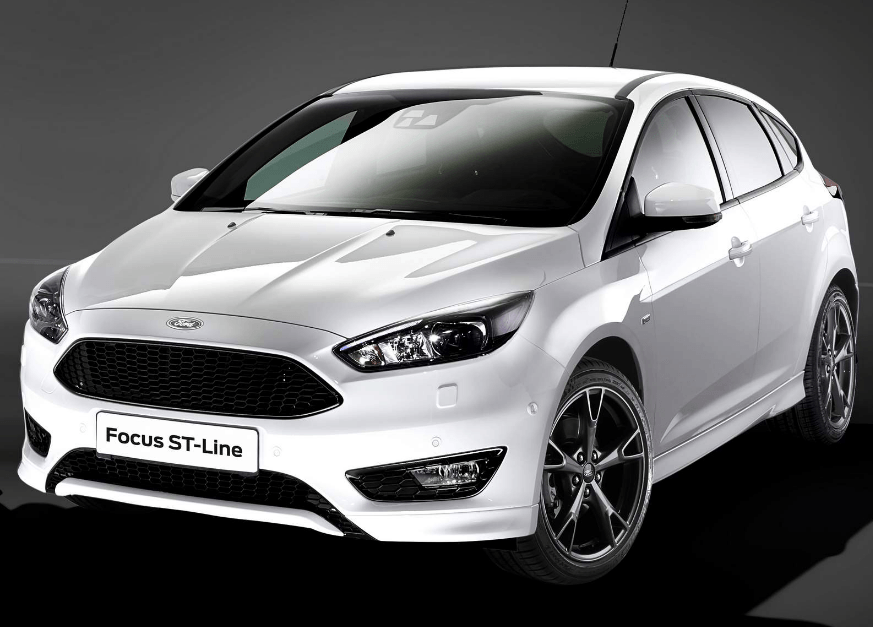 2018 ford focus st line 1 5t ecoboost price region on. Black Bedroom Furniture Sets. Home Design Ideas