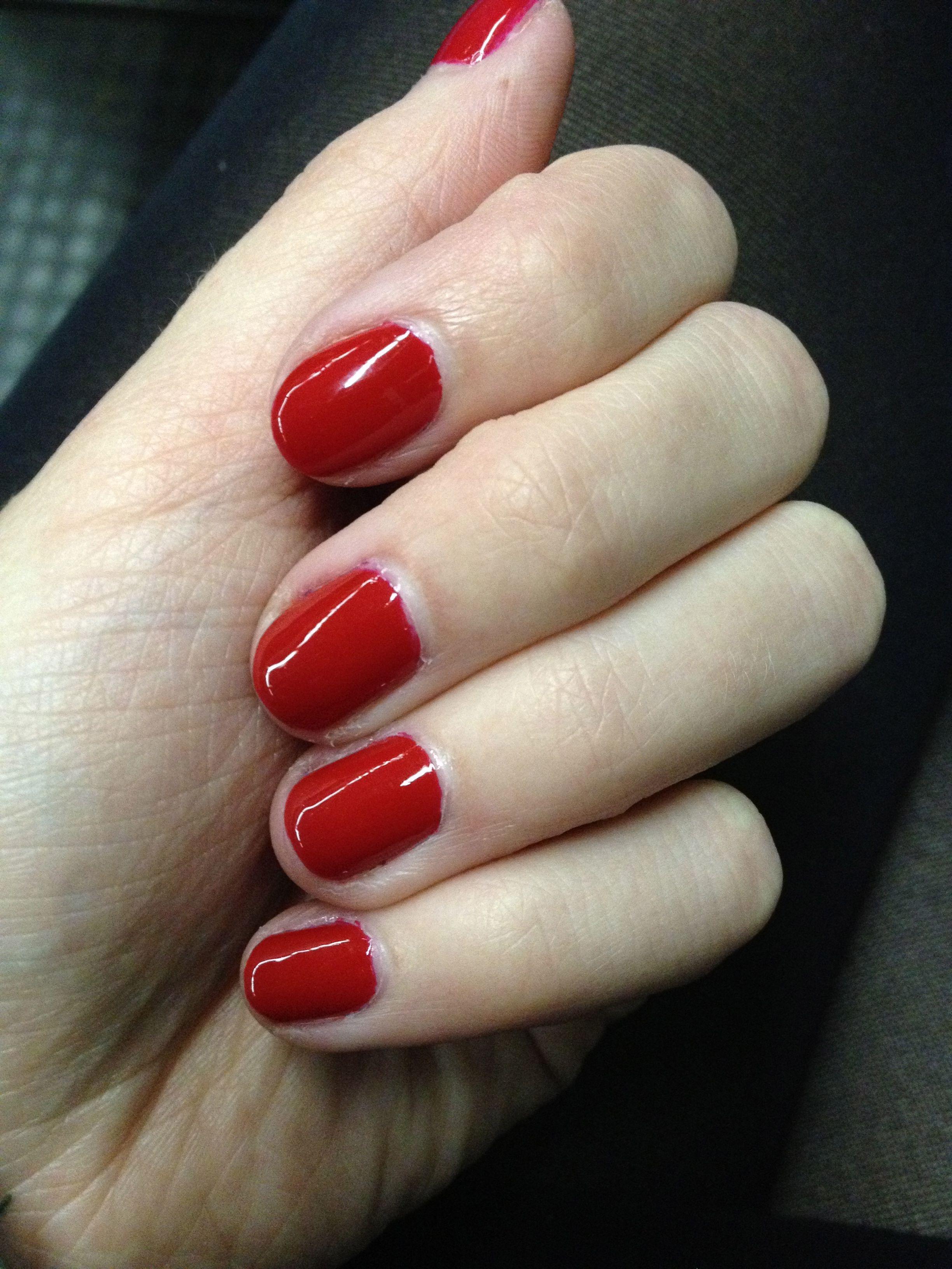 Essie - Really Red   Nagellack   Pinterest