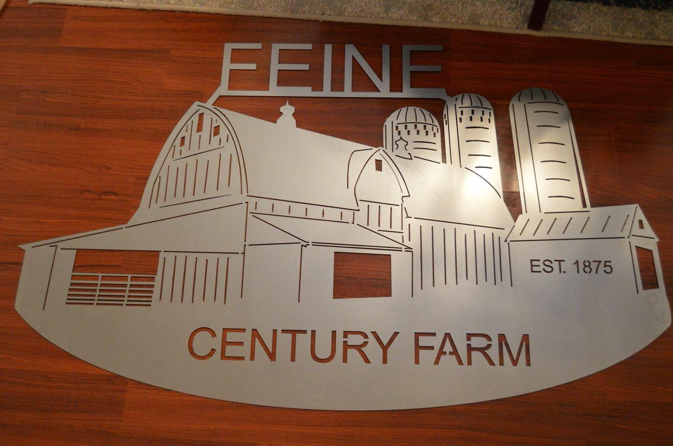 Custom Farm Sign Custom Farm Signs Farm Signs Metal Art