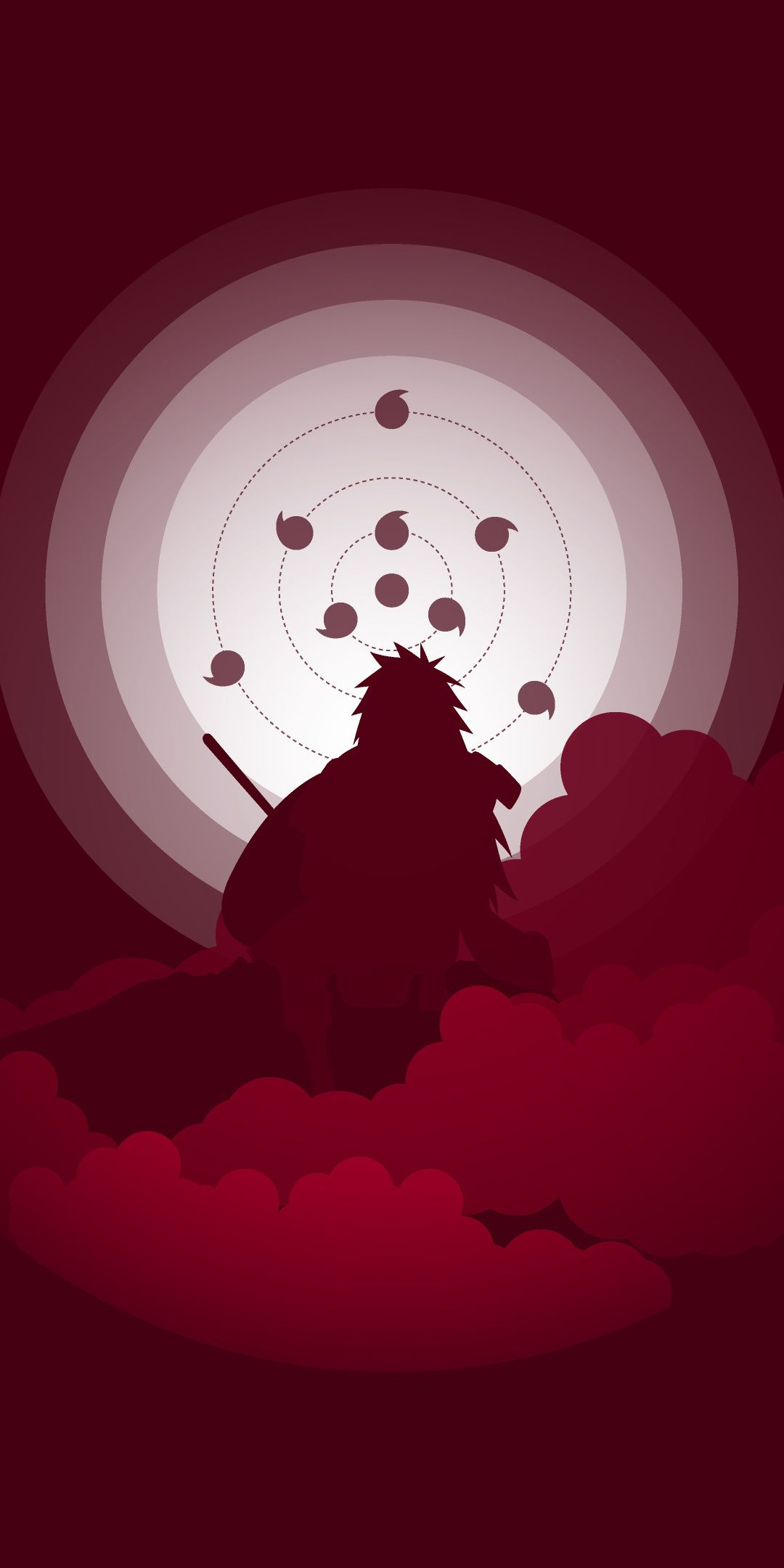 Naruto Shippuuden Artwork Minimal 1080x2160 Wallpaper