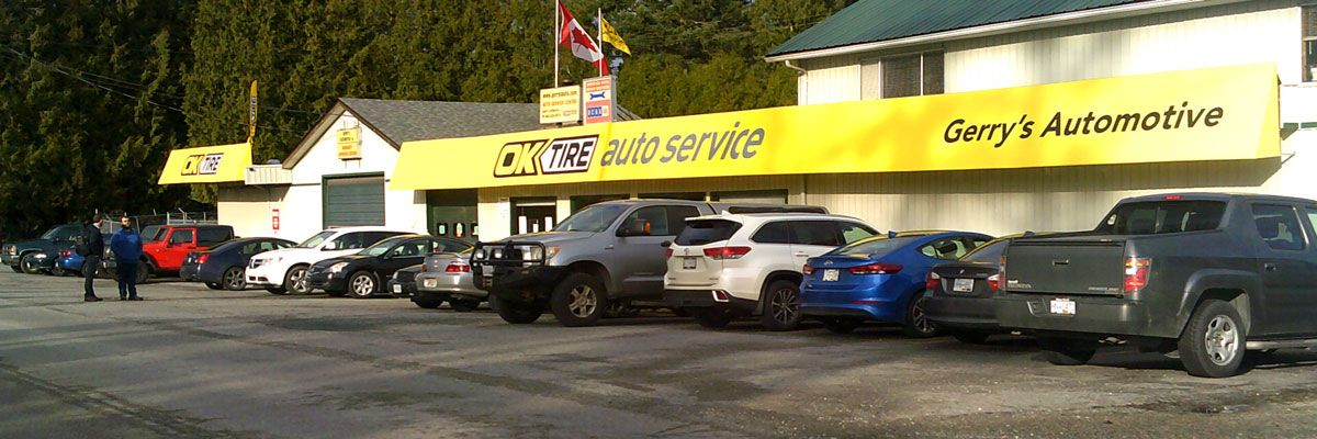Formerly gerrys automotive ok tire north abbotsford is