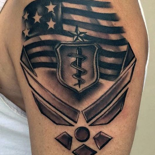 Air force and tattoos