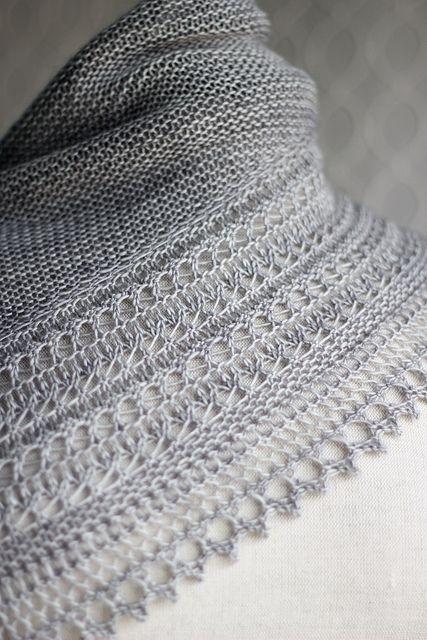 Owlish's Fennyman [aka HENSLOWE 2] made with Madeline Tosh merino Light. pattern lace