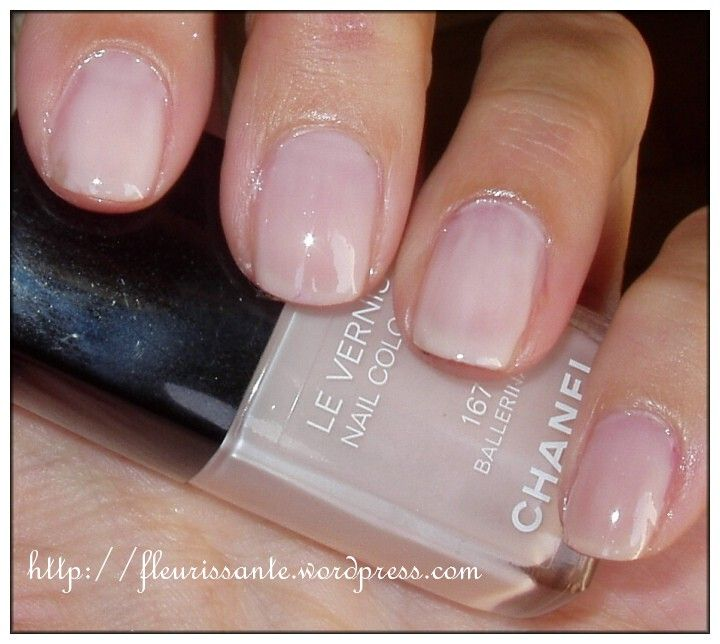"Favori CHANEL Le Vernis in #167 Ballerina Review and Swatch | ""I DO  NE28"
