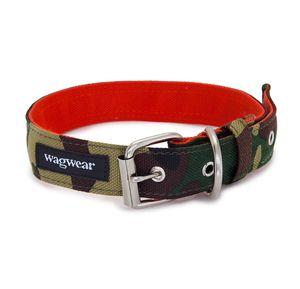 Wagwear Cordura Dog Collar In Camo With Images Collars