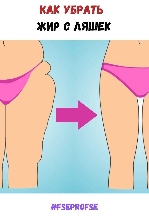 Как Похудеть На Попе И Ляжках. Убираем жир и целлюлит с ляшек и ягодиц