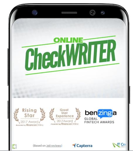 Check Printing Software Print Checks Online Works On Any Printer Printing Software Online Checks Writing Software