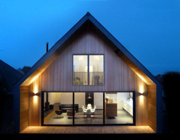 Scandinavian Home Design Exterior