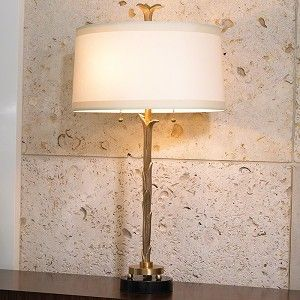 Organic Table Lamp-Antique Brass Finish by Global Views
