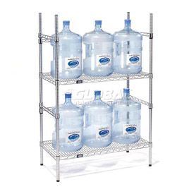 5 Gallon Water Bottle Storage Rack 6 Bottle Capacity Water