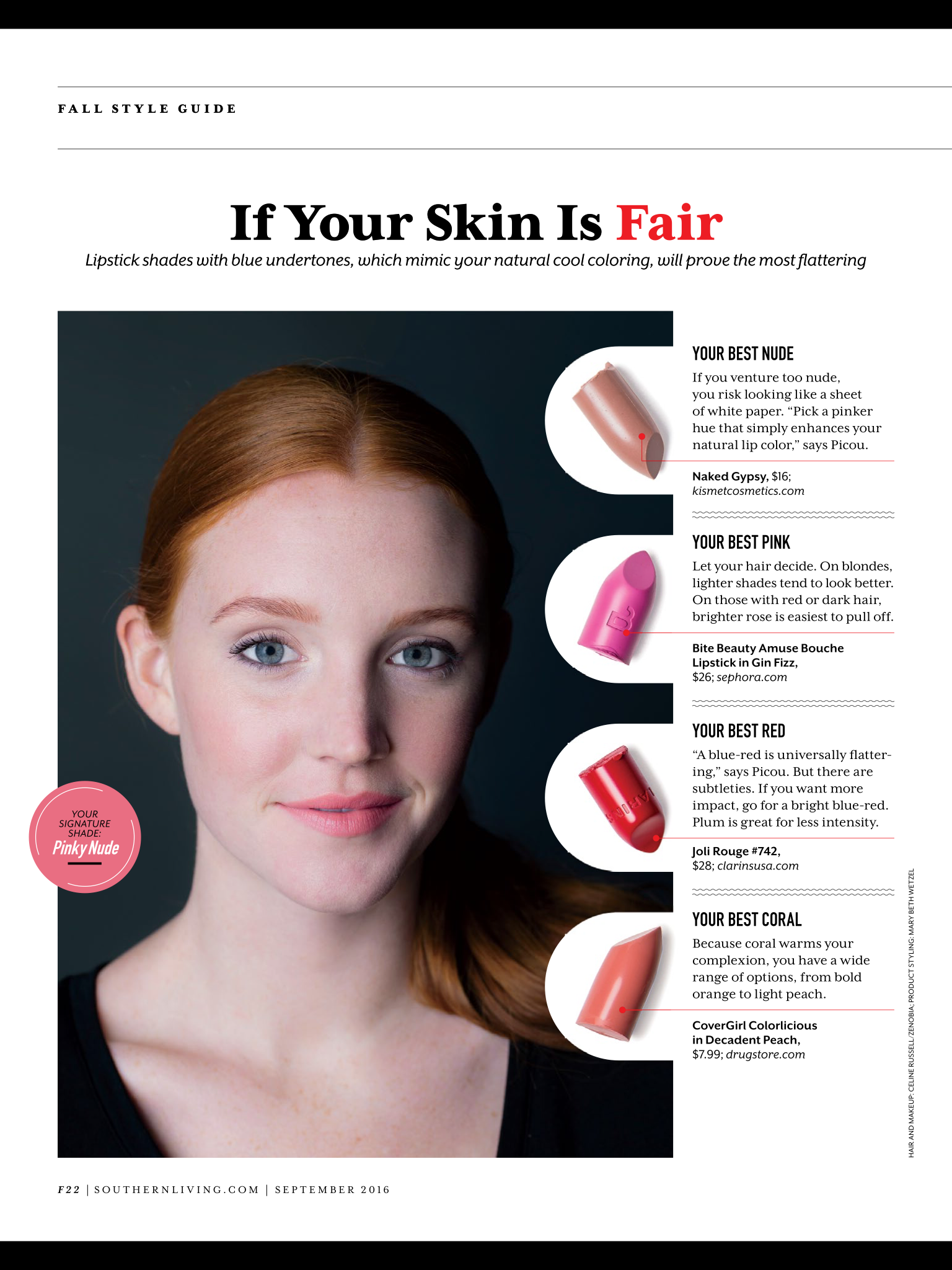 Lipstick Colors For Fair Skin Tones  Natural Lip Colors -7806