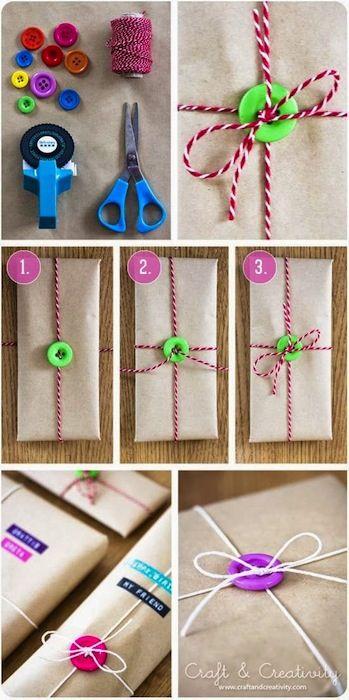 Envolver regalos de forma original, las mejores ideas \u003e Minimodaes