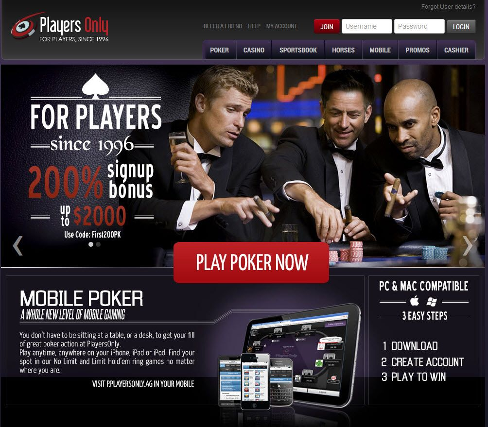 Male players only sportsbook