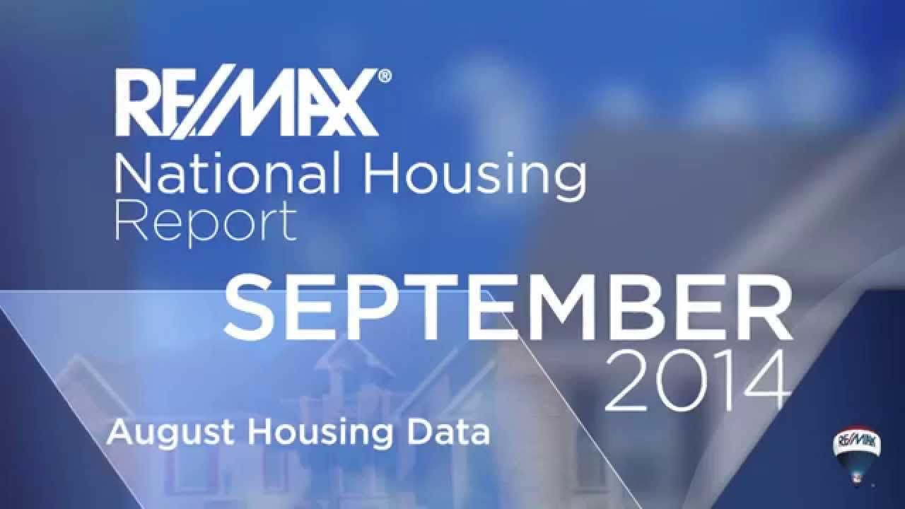 Re Max National Housing Report September 2014 Remax Real Estate