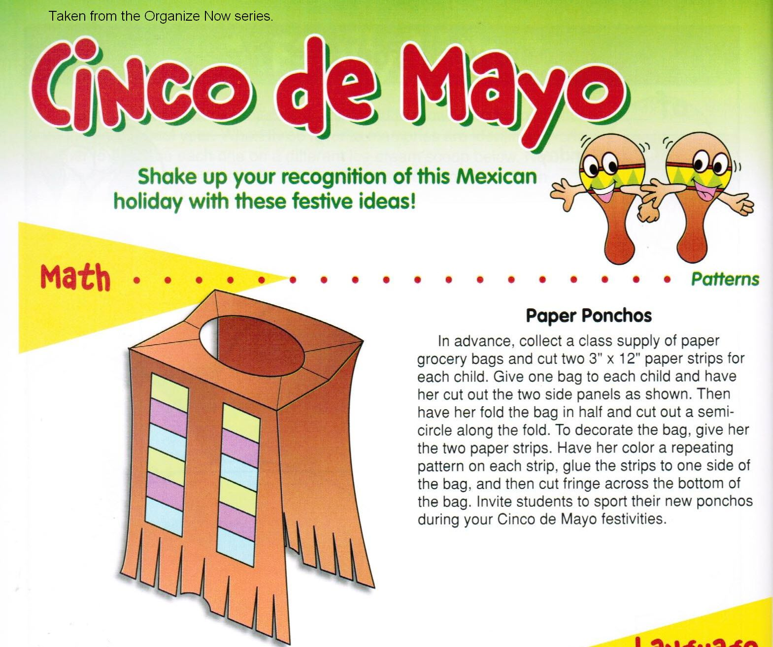 Cinco De Mayo Vest Craft