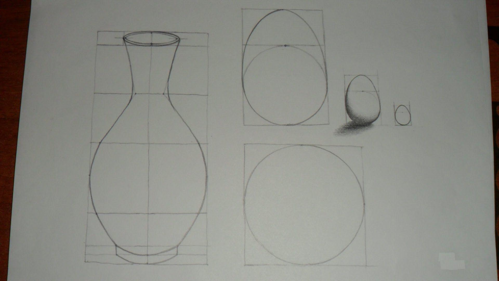 Leccion Nº 4 Bases Elementales Para Dibujar Elementos Auxiliares En Dibujo Y Su Uso O Aplicacion Como Aprender A Dibujar Aprender A Dibujar Bodegones Faciles
