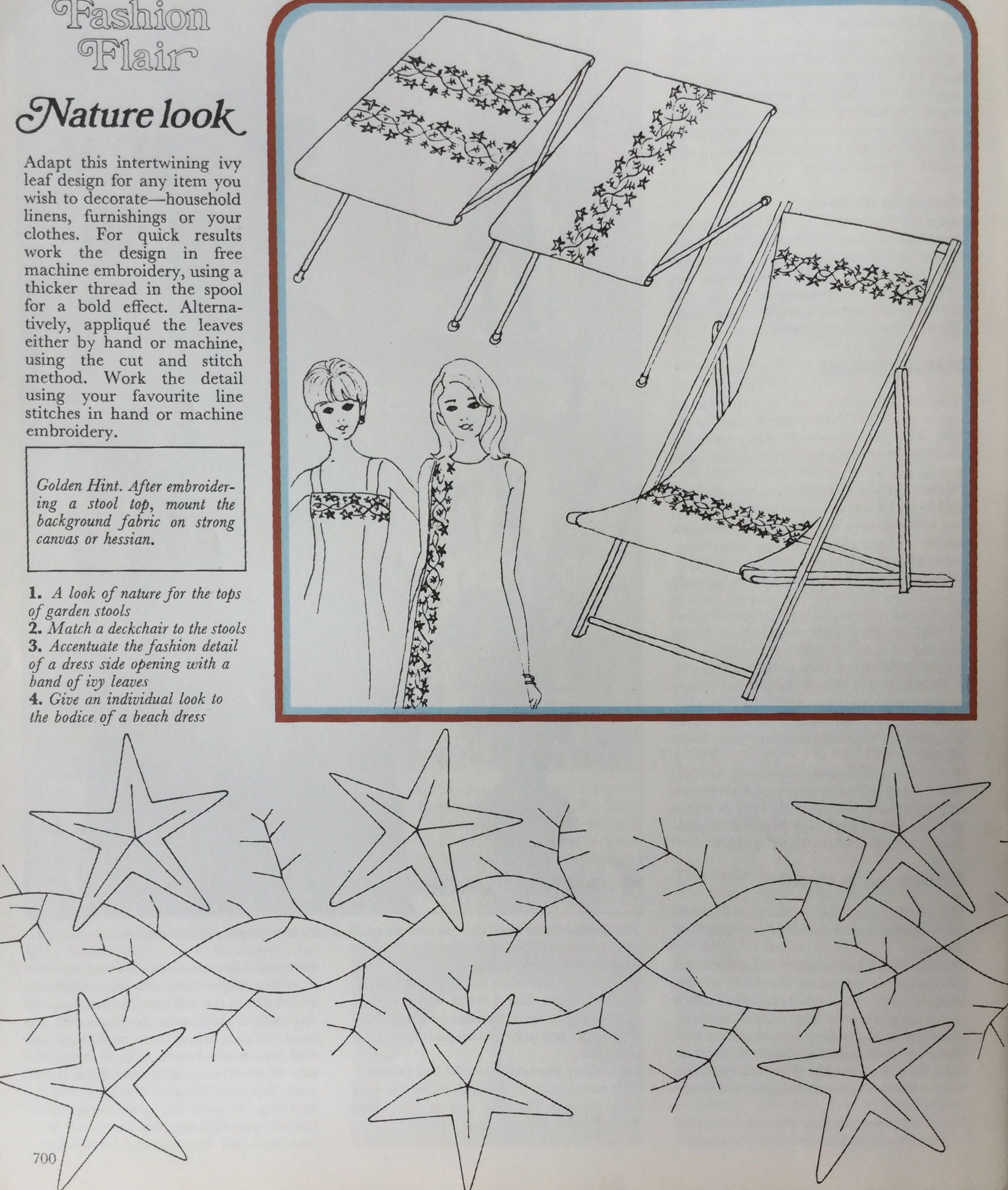 Clothing Embroidery Golden Hands Magazine Part 35