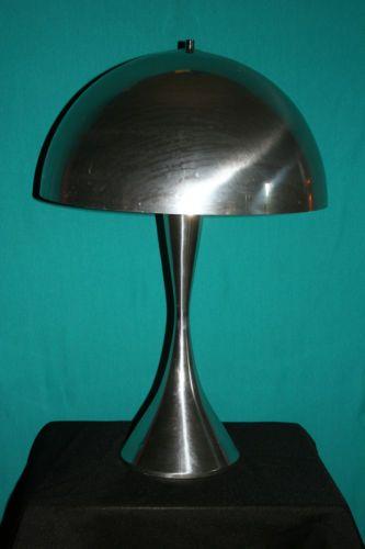 Retro Panthella Louis Poulsen Aluminum Dome Mushroom Shade Verner Panton Lamp | eBay
