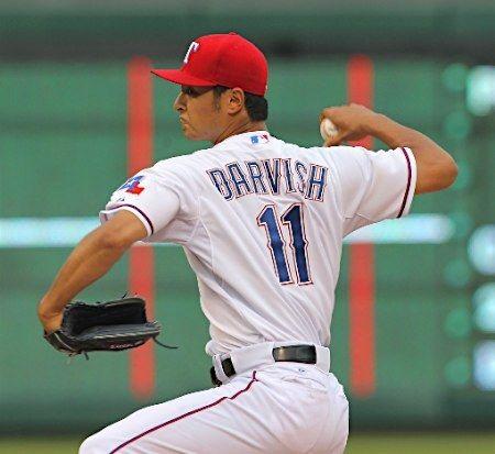 テキサス・レンジャーズ時代のプロ野球選手ダルビッシュ有投手 壁紙