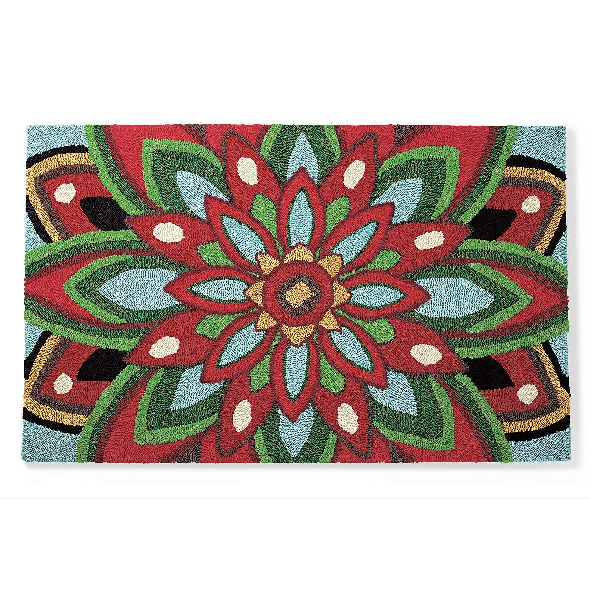 fiesta holiday outdoor mat grandin road