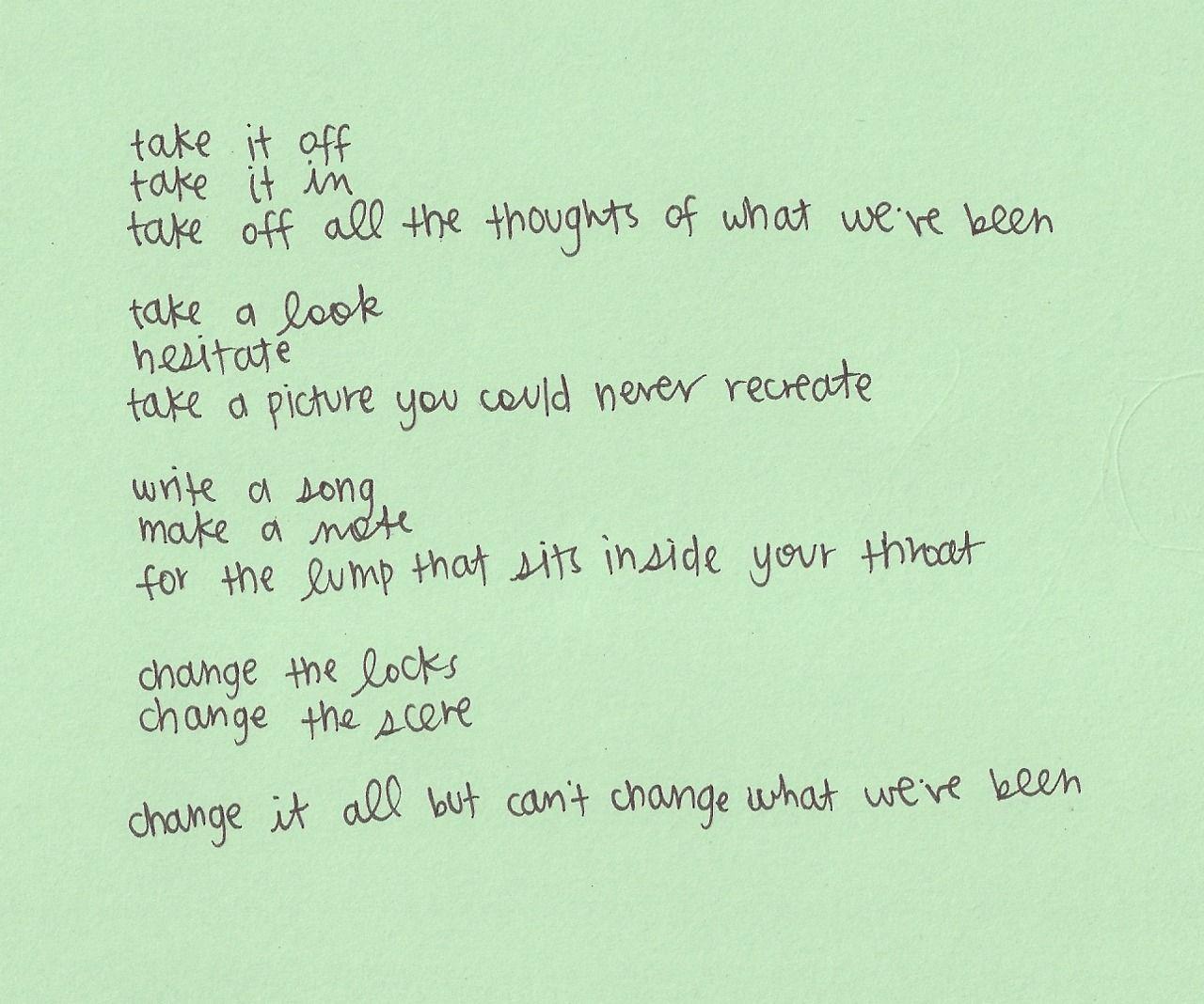 Pin on Mind Games: Lyrics.