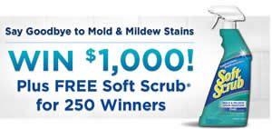 WIN a Soft Scrub Product (250 Winners!) on http://www.icravefreebies.com/