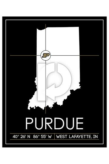 Purdue University Map Wall Art 37 X 31 Hautelook Map Wall Art Purdue Purdue University