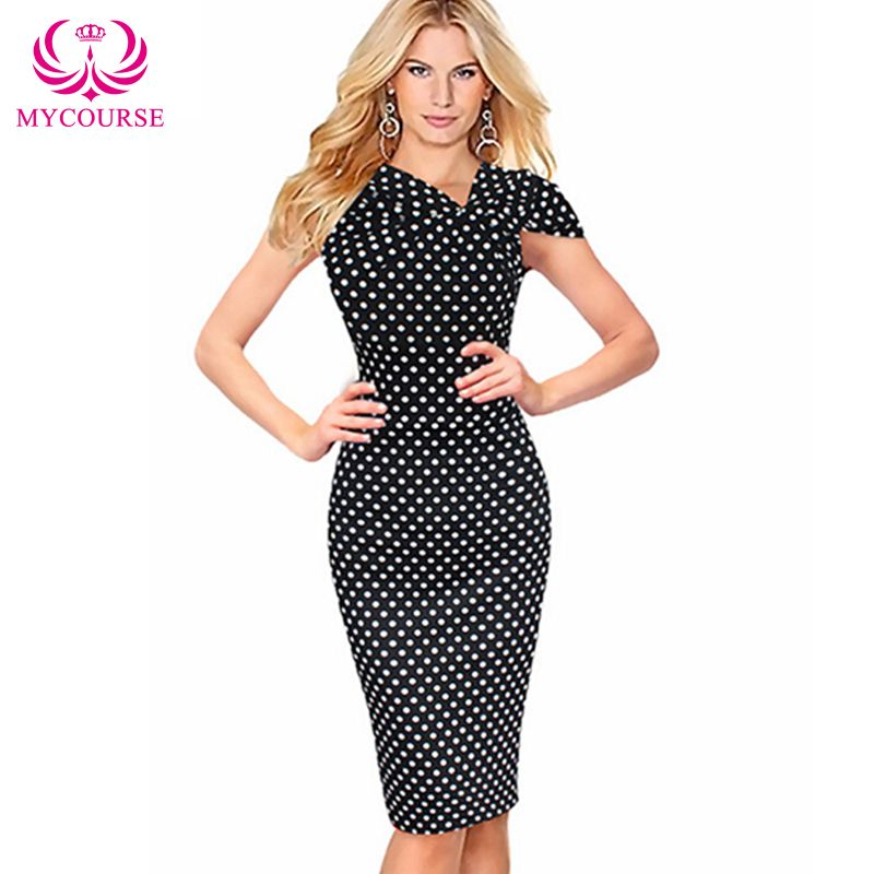 23d804f9469d7 Find More Dresses Information about MYCOURSE Elegant Office Lady ...