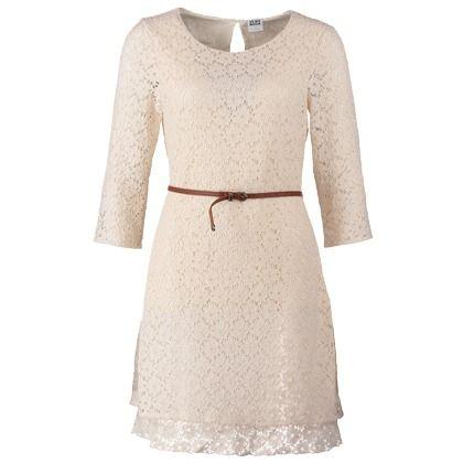 Schönes weißes Kleid aus Spitze 49,95 € | wedding | Pinterest ...