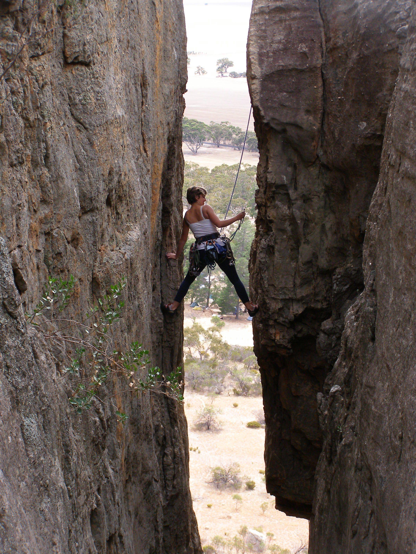 Mt Arapiles Rock Climbing - YouTube