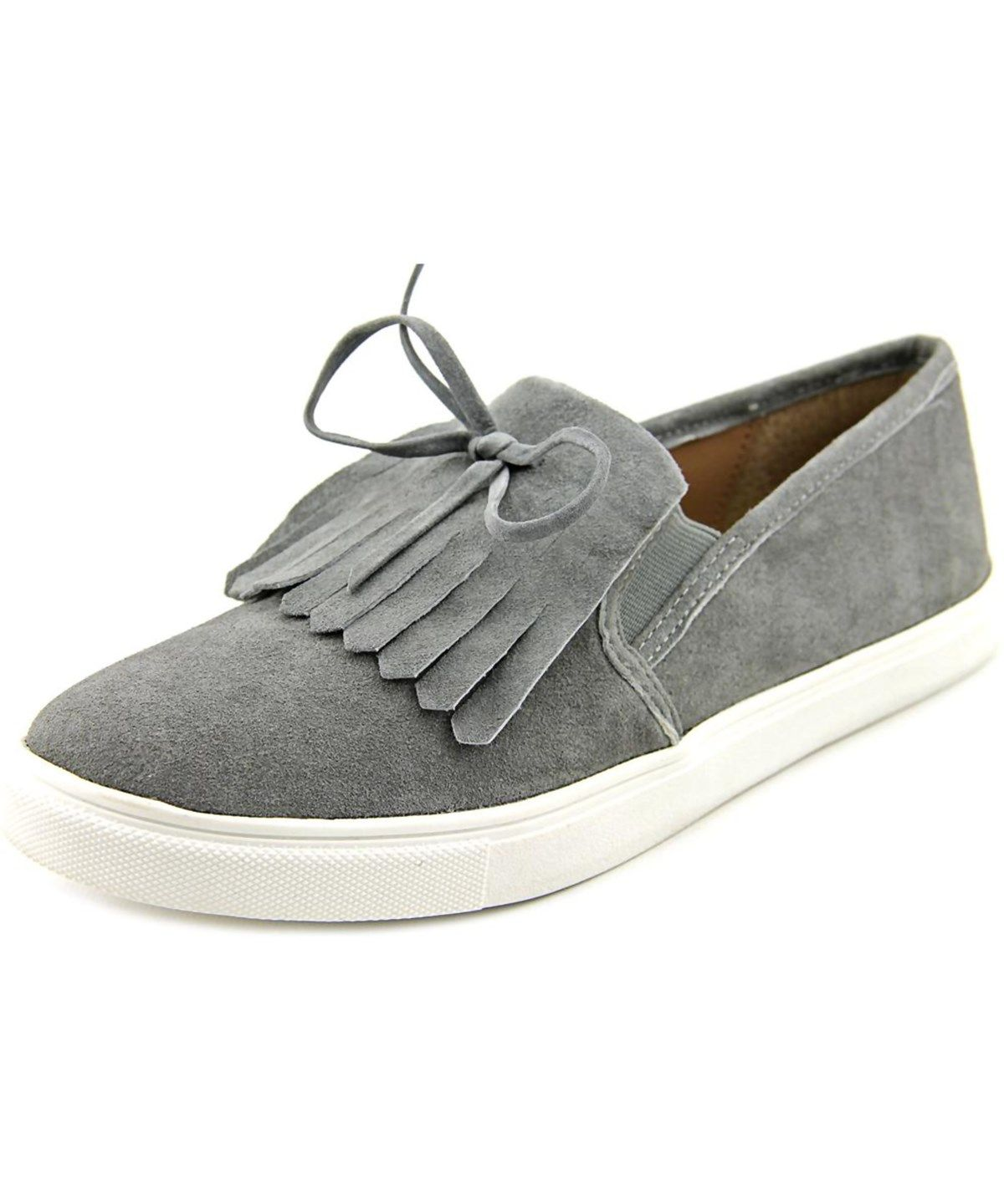 3c84a5b1a02 STEVE MADDEN Steve Madden Eban Women Round Toe Suede Gray Sneakers .   stevemadden  shoes  sneakers