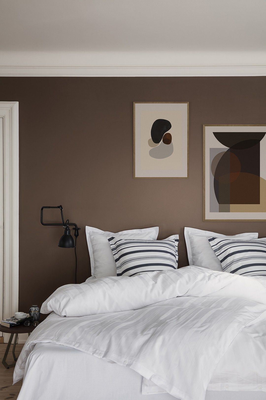 Simple striped bedding u2013 a collaboration between