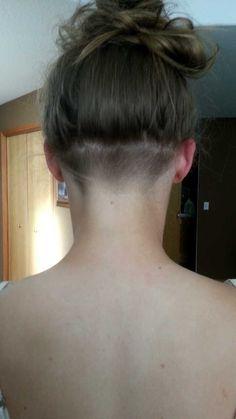 subtle undercut girl  google search  undercut hairstyles