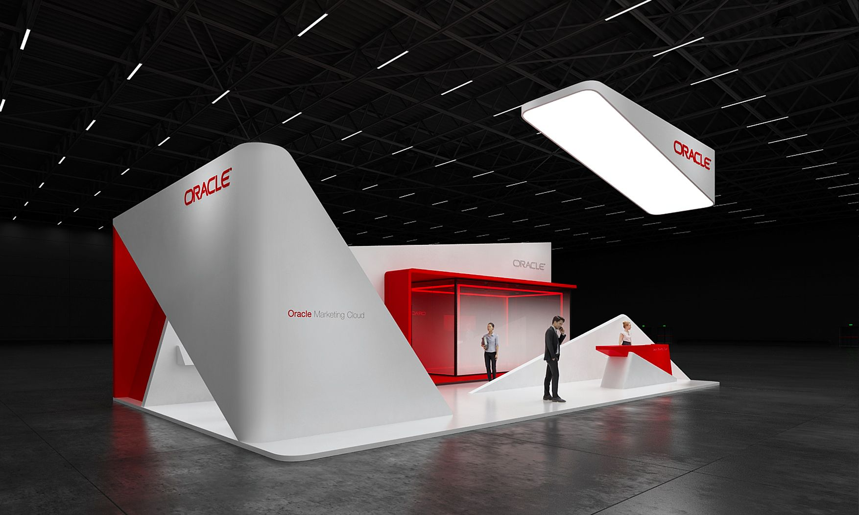 Exhibition Stand Design Ideas : Oracle exhibition stand design idea gm stand design gm stand