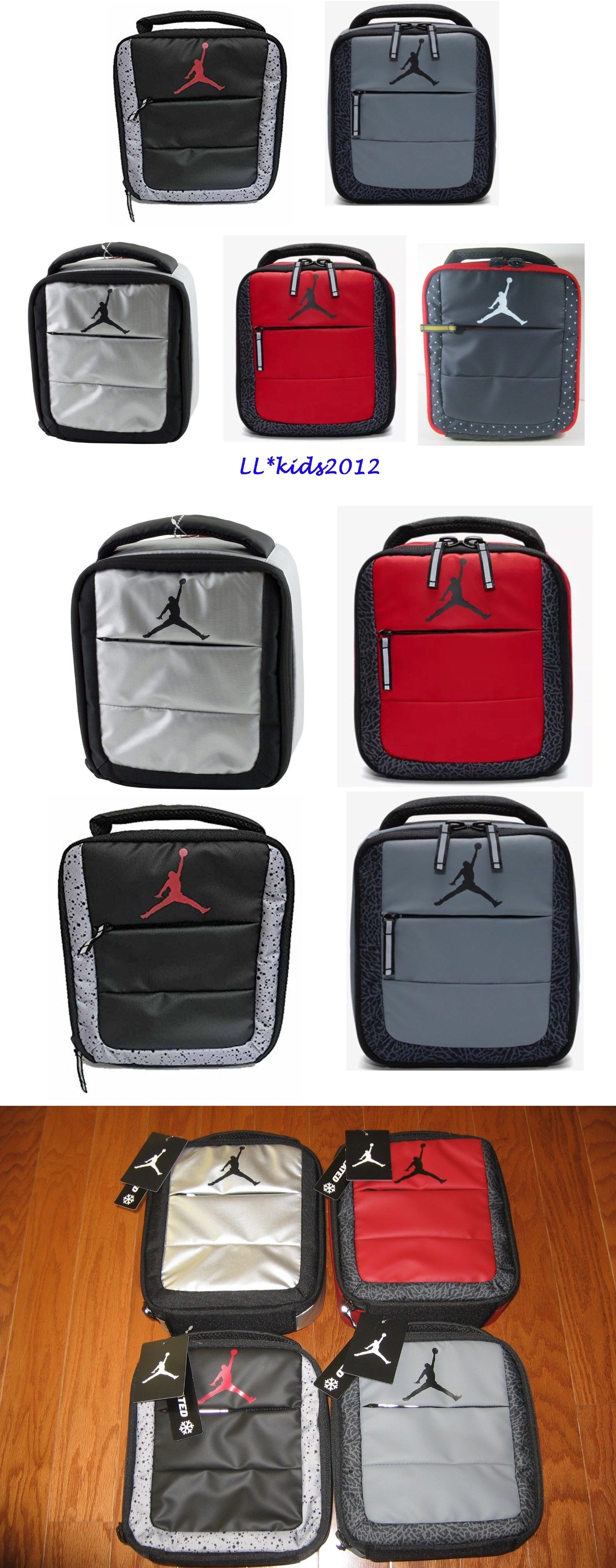 8b4abff8b2e Backpacks and Bags 57882  Air Jordan Jumpman Insulated Soft School Lunch  Tote Bag Box Nwt