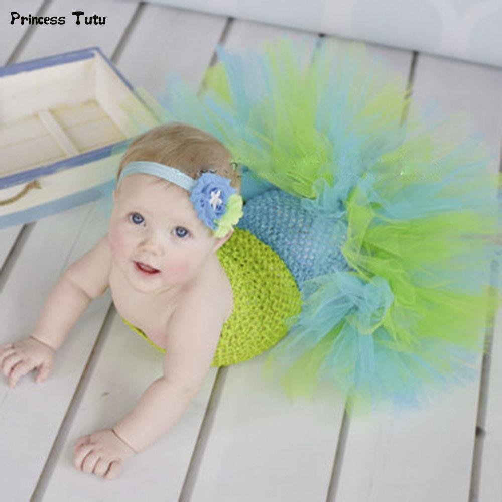 2340 watch now baby mermaid ariel fishtail tutu dress infant toddler princess fancy dress newborn halloween - Baby Mermaid Halloween Costume