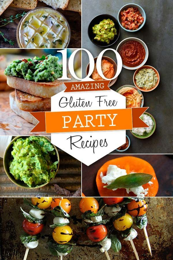 100 Gluten Free Party Appetizers