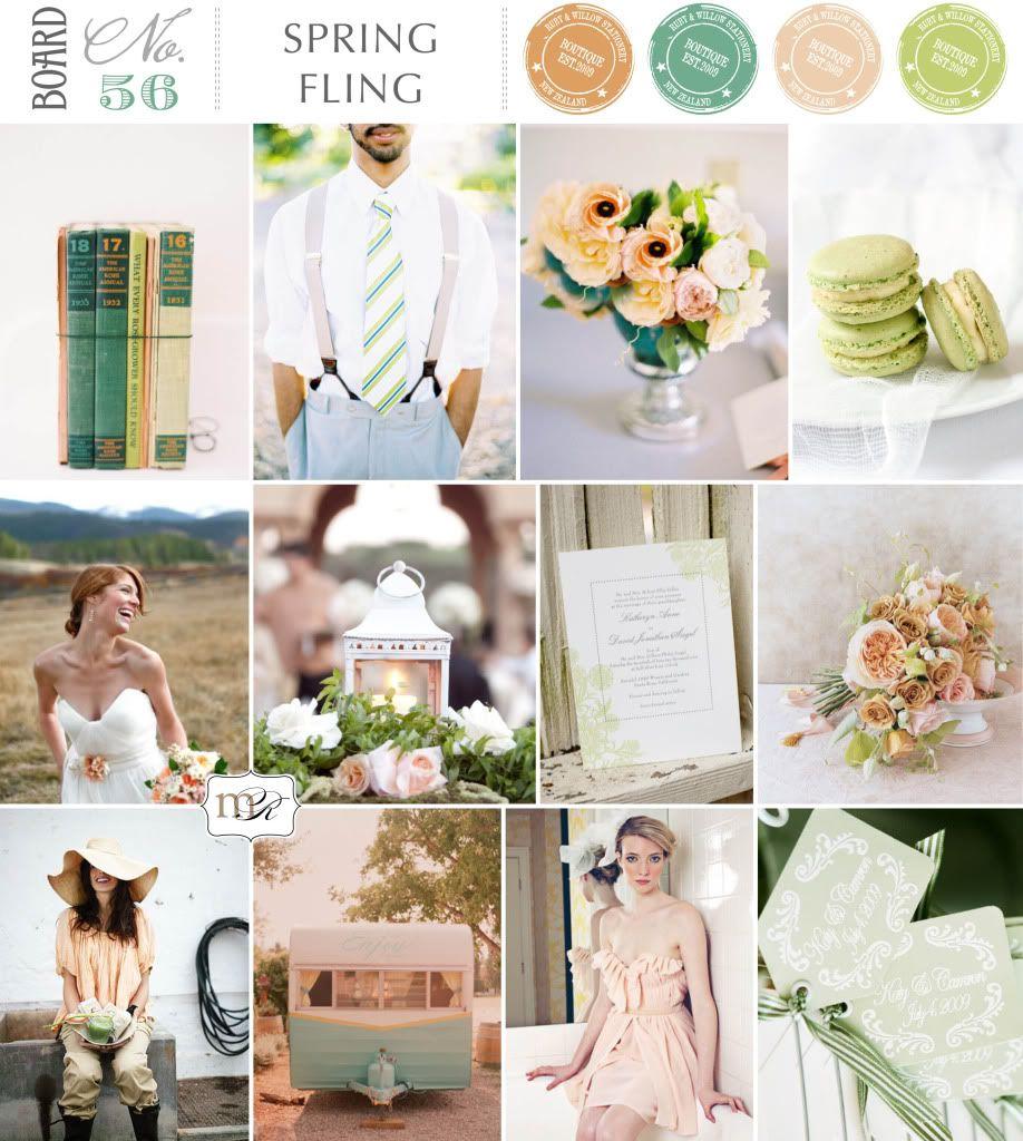 Magnolia Rouge: Board#56: Spring Fling | s p r i n g w e d d i n g ...