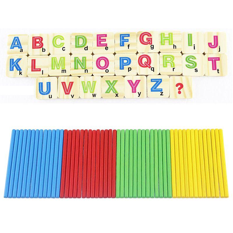Bambini Numeri In Legno Matematica Apprendimento Precoce Conteggio Bastone Matematica Giocattoli Educativi per I Bambini Scherza il Regalo