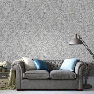 Skin 10m L x 64cm W Roll Wallpaper | Wayfair UK
