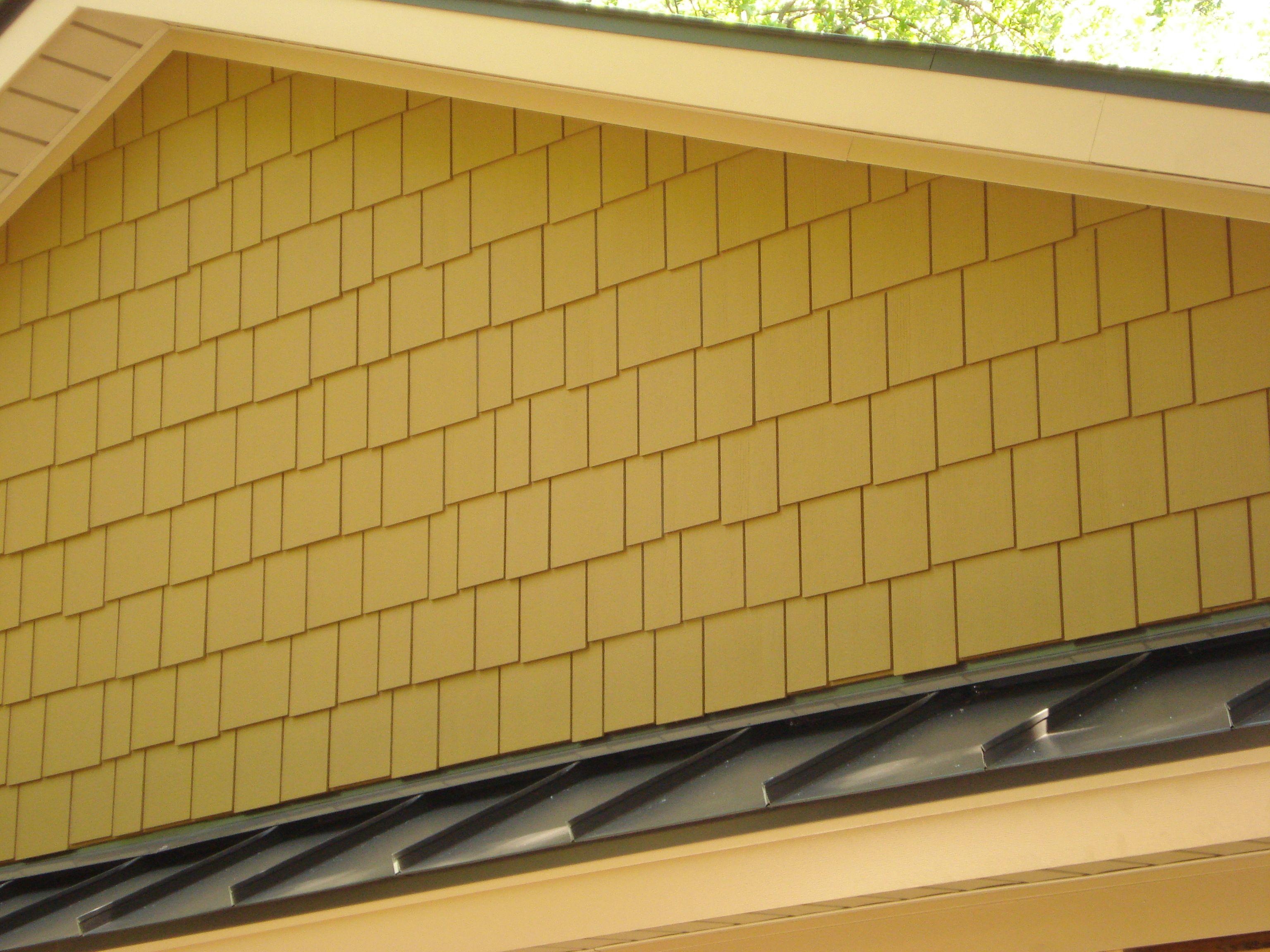 Certainteed Cement Fiber Siding System On Gable End Fiber Cement Siding Certainteed Porch Area