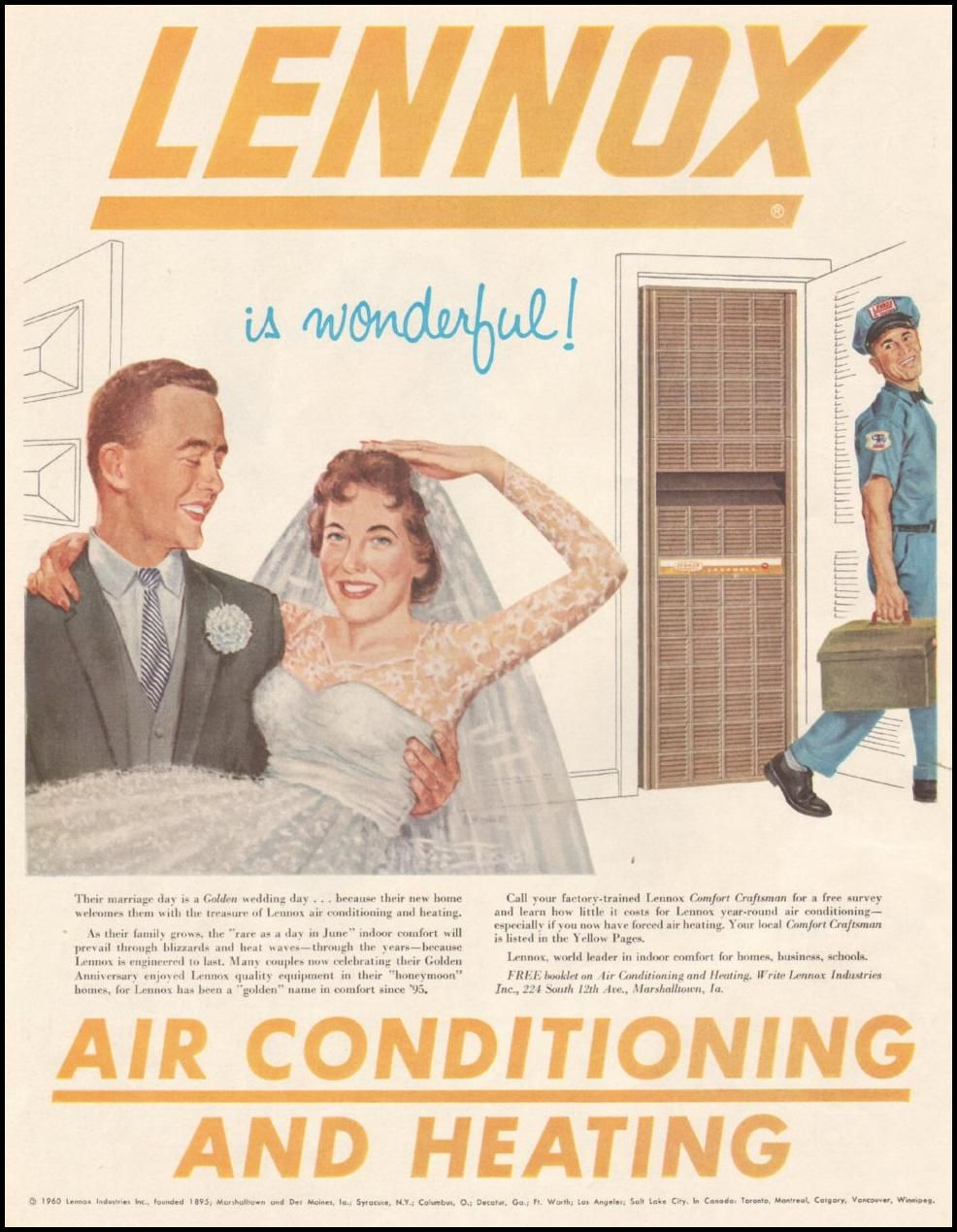 Lennox Air Conditioning And Heating Saturday Evening Post 06 11