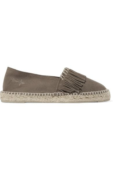 Light Brown Hamptons Suede Espadrilles Maneb oiLyUJNrRa