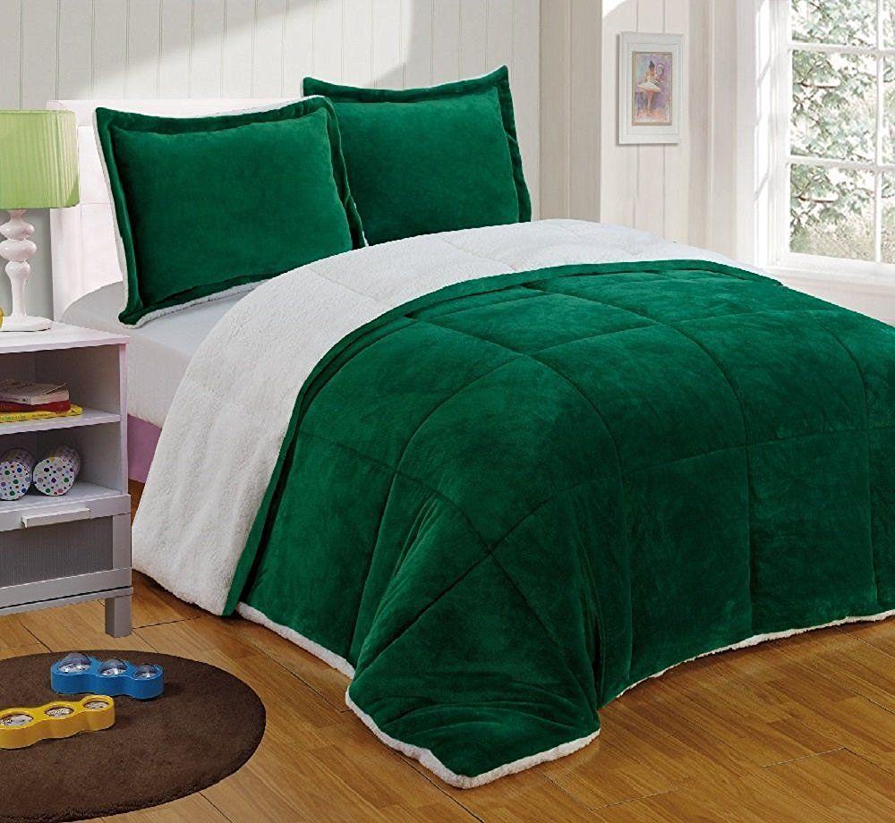 Hunter Green Bedding Set Home Ideas
