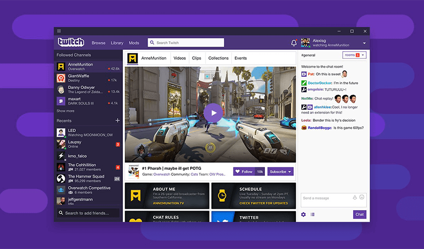 Twitch Launches Desktop App With Voice And Video Calls