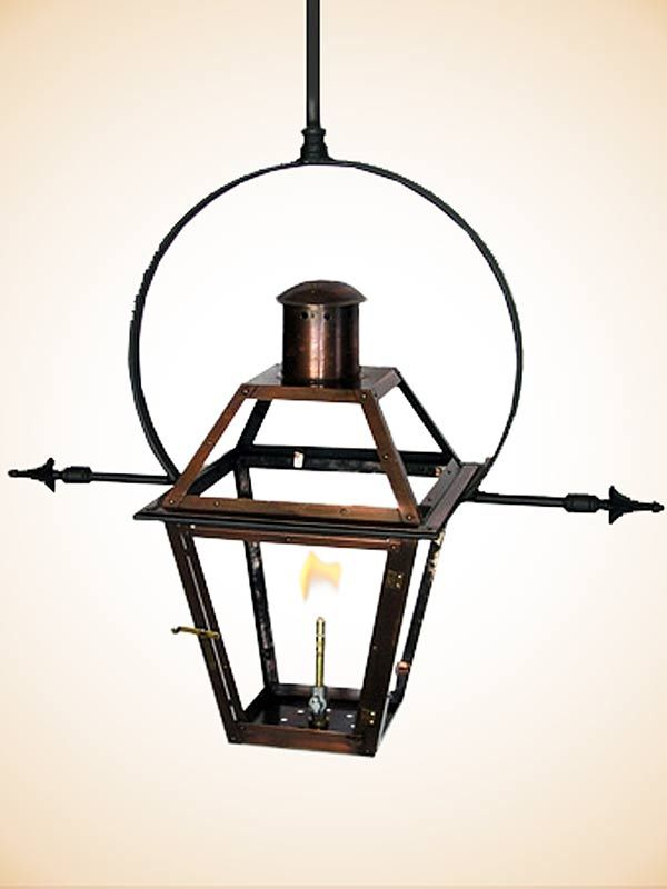 Bourbon street yoke with ladder racks exterior paint colors flambeaux french quarter hanging yoke with ladder racks gas outdoor lanterns copper gas electric mozeypictures Image collections