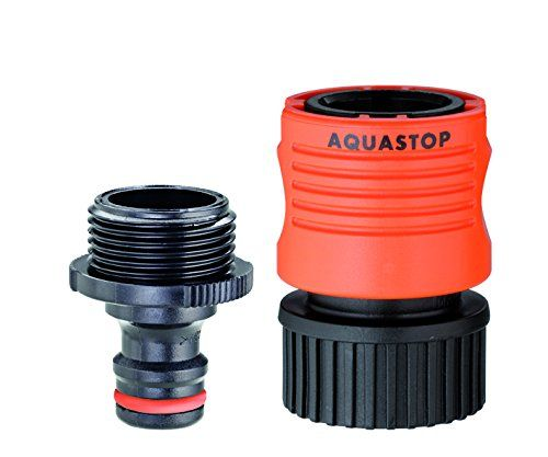 Easily Connects Garden Hose To Nozzle And Or Sprinkler Includes