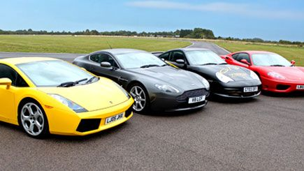 Awesome Foursome Driving Thrill! Treat the man in your life to this amazing driving experience
