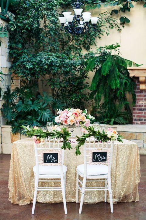 120 Adorable Sweetheart Table Decor Ideas Bride Groom Table