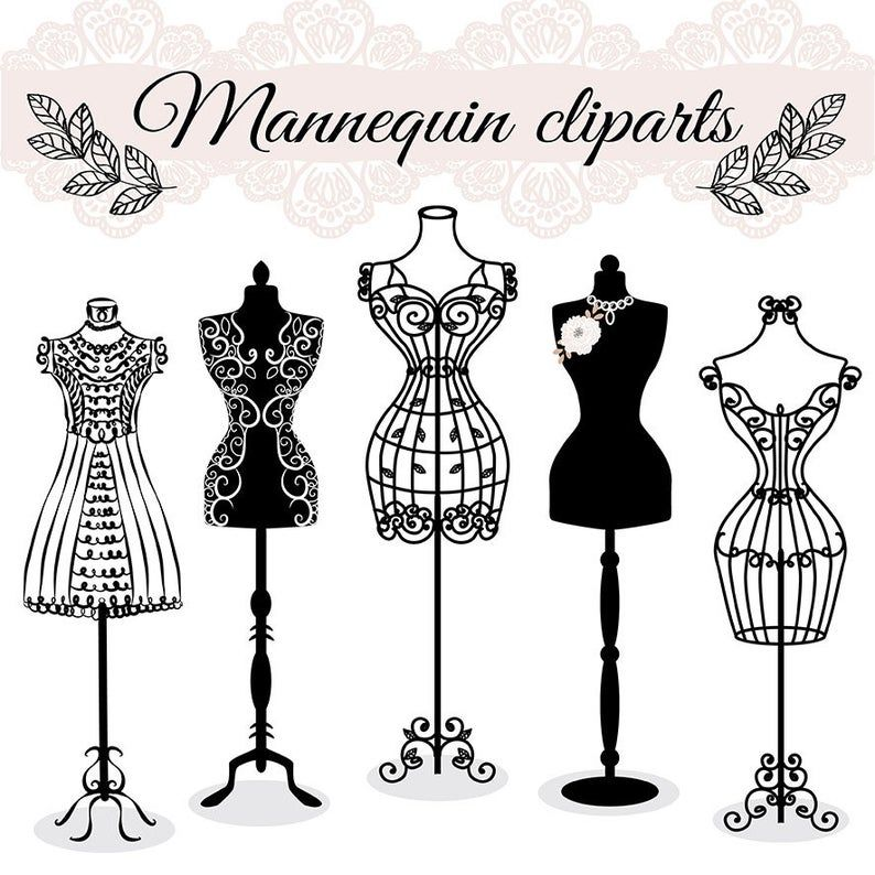 Premium Vector Hand Draw Mannequin Fashion Dress Forms Clipart Tailors Dummy Sewing Clipart Sewing Clipart Sewing Art How To Draw Hands